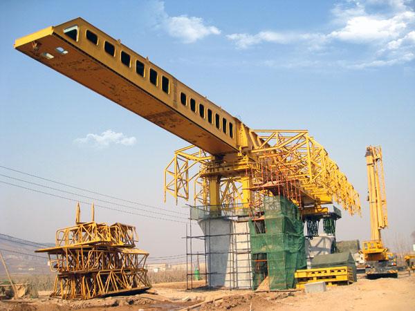 mzs系列上行式移动模架造桥机图片